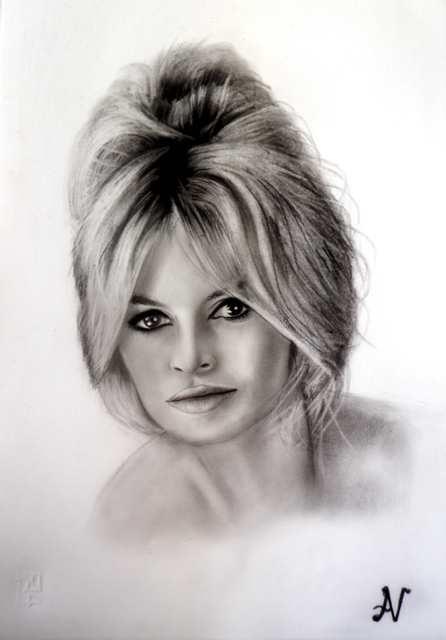 Brigitte Bardot par albertino